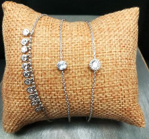 bracelets femme argent