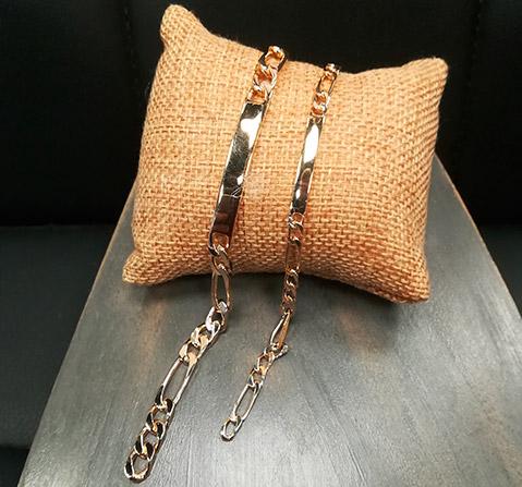 plaque or bracelet